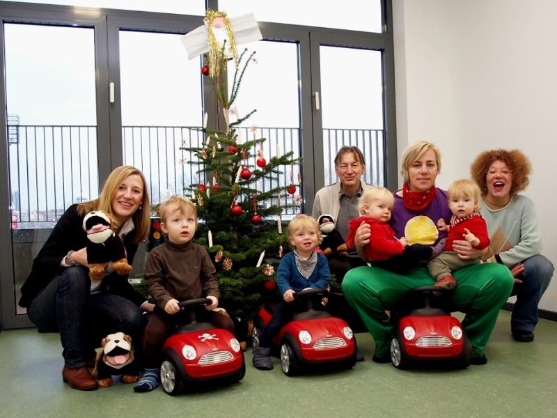 Freude in der Kita über die ersten Weihnachtsgeschenke! - Pestalozzi ...