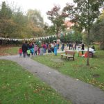 Spielplatz bei der Kita Kinderburg in Borgfelde