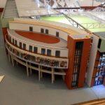 Modell des Millerntorstadions