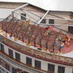 Stadionmodell mit Kita Piraten Nest