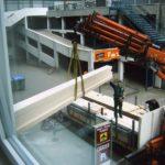 Einbau der Einrichtung Indoorhalle Kita am Stadtpark