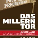 Den ganzen August kann die Ausstellung noch besucht werden www.millerntor-ausstellung.de