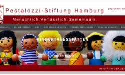 neue Homepage der Pestalozzi Stiftung Hamburg