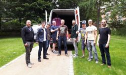 Sommerfest der Kita Kinderburg in Borgfelde - von den Papas organisiert!