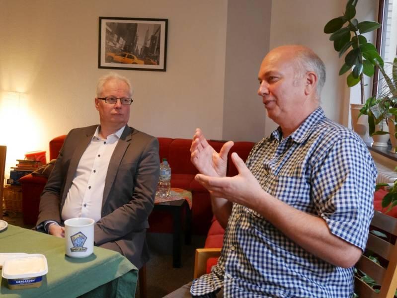 Verwaltungsrat der Pestalozzi Stiftung Hamburg unterwegs in den Einrichtungen
