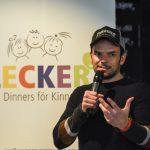 Steffen Henssler erklärte seinen Bezug zu Lecker hoch drei.