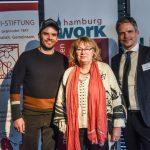 Silke Schwartau von der Verbraucherzentrale mit Steffen Henssler und Kai Gosslar