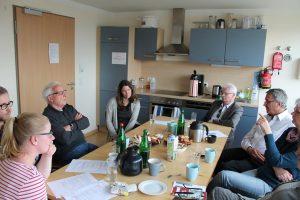 Tour mit dem Verwaltungsrat