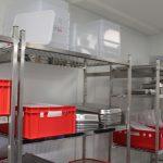 Bereich Gastronormbehälter