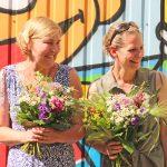Stellvertretende Leitung Susanne Loock und Kita-Leitung Julia Gröne