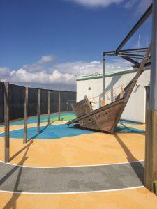 'Neuer' Dachgarten der Kita Piraten-Nest in St. Pauli