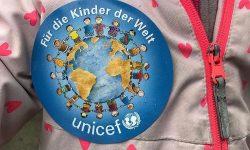Laternenfest in der Kita Kinderburg in Borgfelde - zugunsten von UNICEF